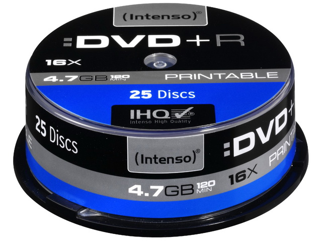 Intenso CD-R Spindel, 700MB, 52x, 80 Min,