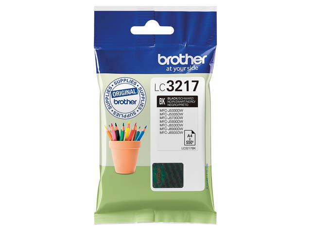 Brother LC223, Original Druckerpatrone Black,